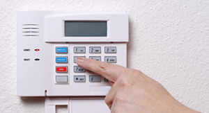 Home security alarm image