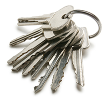 image of house keys