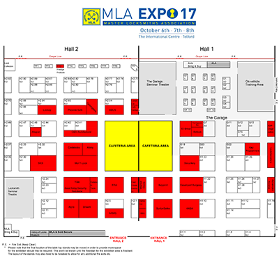 MLA Expo 2017 Floor Plan