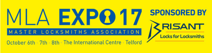 MLA Expo 2017 Logo - Locksmith Security Exhibition