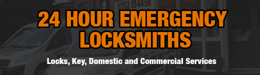 24 Hour Essex Locksmiths Banner
