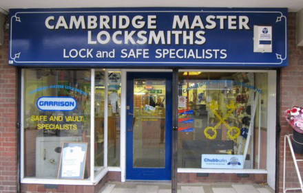 Cambridge Master Locksmiths Shop
