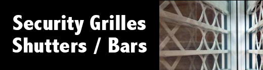 Security Grilles Banner- Cambs Lock and Safe