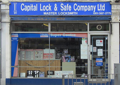 Capital Lock and Safe Company Shop