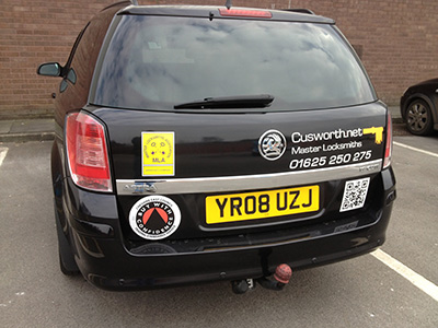 Emergency Locksmith van in Stockport image