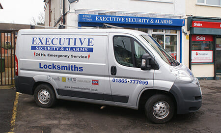 Executive Security Oxford Locksmith Shop and Van image