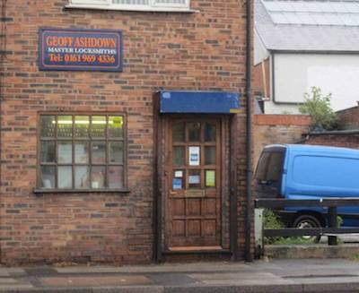 Geoff Ashdown Master Locksmith Shop in Manchester image