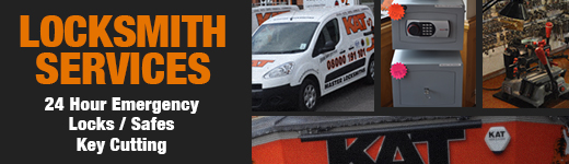 KAT Security - Locksmiths Services Banner