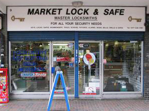 Market Lock and Safe Store