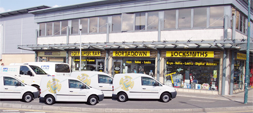 Portadown Locksmiths Shop