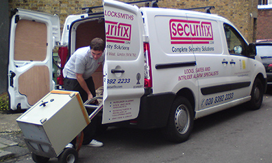 Securifix Locksmith Van