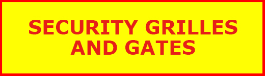 Security Grilles and Gates banner - North London Locksmiths