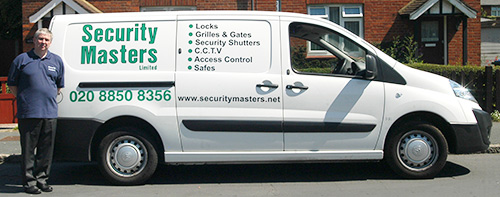 Security Masters Locksmith Van