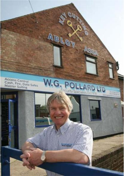 W G Pollard Locksmith Shop Outside