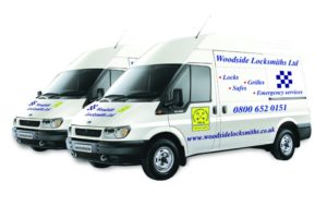 Woodside Locksmiths Van