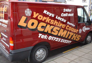 Yorkshire Coast Locksmith Van