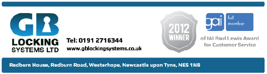 GB Locking Systems Banner