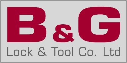 B & G Lock & Tool Co Logo