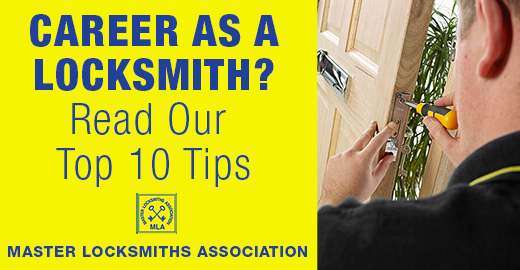 Locksmith Career checklist banner