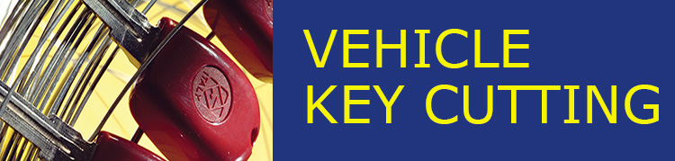 Vehicle Key Cutting Banner