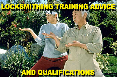 Locksmith training advice banner