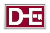 D and-E Architectural Hardware Logo