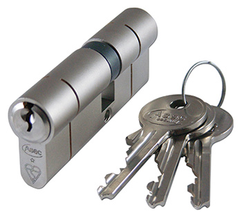 Change door lock cylinder