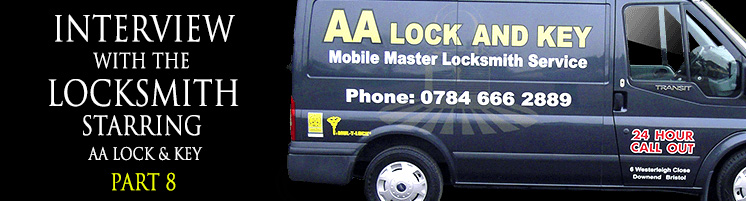 Interview with a locksmith banner
