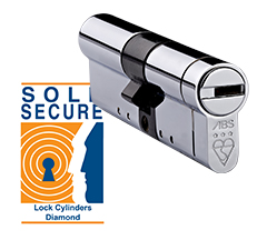 ABS Lock and Sold Secure Diamond Logo
