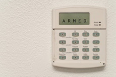 Alarm inside house