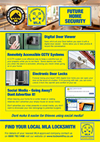 View the full pdf version of our Future Home Security poster