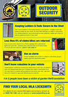 View the full pdf version of our Outdoor Security poster