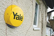 Yale Alarm outside House image