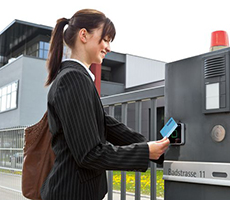 image of electronic card reader