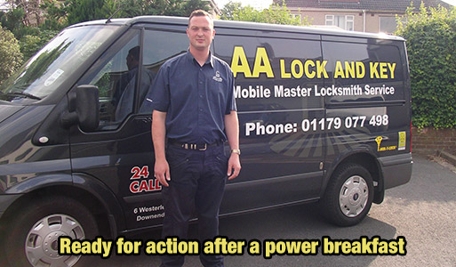 AA Lock and Key Locksmith Van