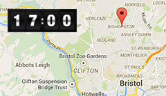 Bishopston Locksmith map image