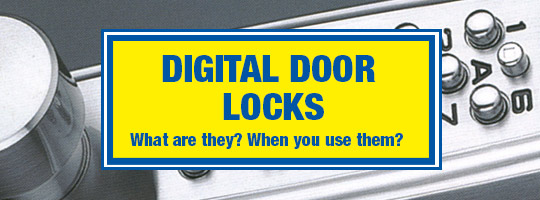 Digital door Lock guide image