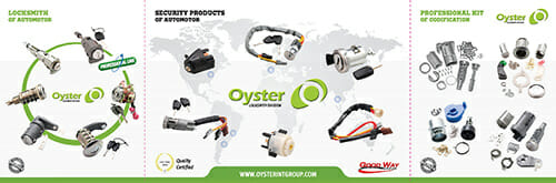 Oyster car locksmith brochure image