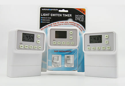 Switched on Products - Light Switch timer image