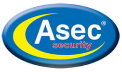Asec Security Large Company Logo Image