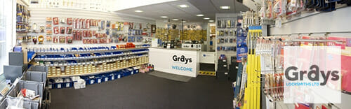 Grays Locksmiths Nottingham Retail Shop Image