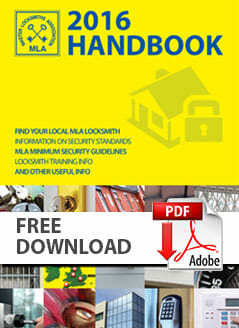 Master Locksmiths Association 2016 Handbook PDF Download image