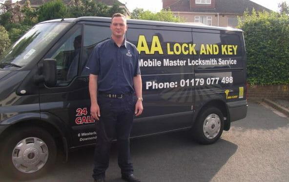 Locksmith Bristol - Craig Andres Locksmith in Bristol by his Locksmith Van