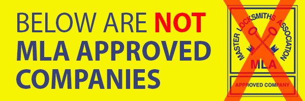 Non MLA Approved Locksmith Companies