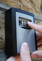 image of a keyguard on a wall