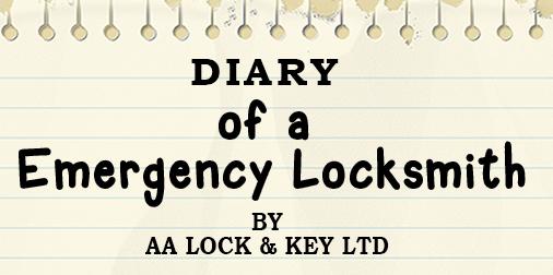 Diary of a Emergency Locksmith – with AA Lock & KeyLtd
