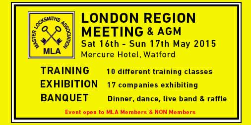 MLA London Region Event includes Training & Exhibition(2015)