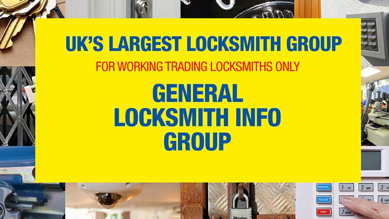 UK's Largest Facebook Group forLocksmiths