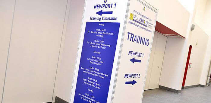 MLA Expo Training Newport room