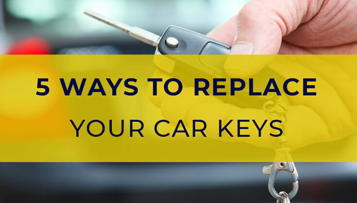 5 Ways To Get Replacement Car Keys Cheapest Quickest Options
